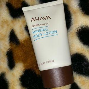 Ahava Makeup - 🆕 Ahava Mineral Body Lotion deluxe sample